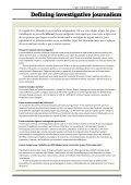 O que é jornalismo de investigação? - Page 2