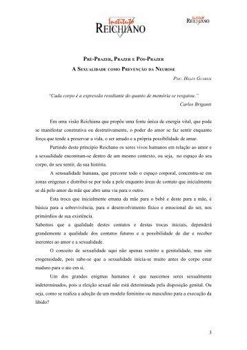 Apostila Jornada 2007 - Instituto Reichiano