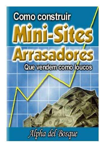 Como criar Mini-Sites Arrasadores que Vendem ... - Ganhe Com Sites