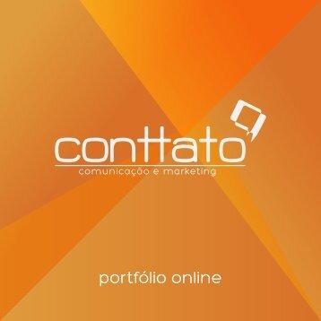 portfólio online - Conttato Comunicação e Marketing