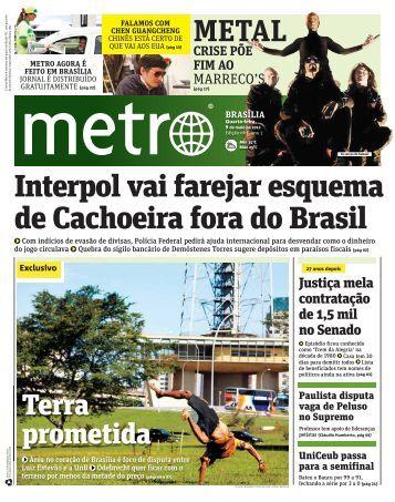 Interpol vai farejar esquema de Cachoeira fora do Brasil - Metro