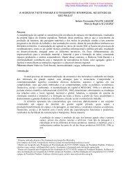 A HIDROVIA TIETÊ-PARANÁ E O TRANSPORTE INTERMODAL NO ...