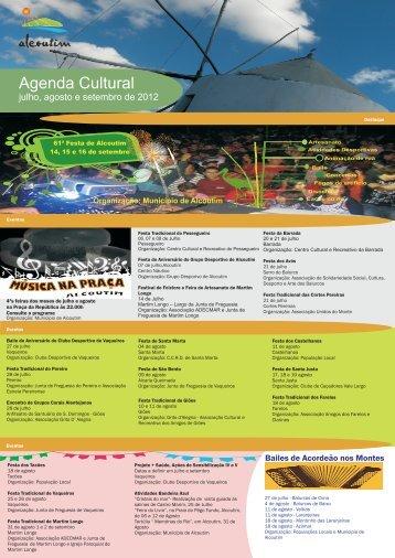 agenda Julho, Agosto e Setembro 2012 - Alcoutim