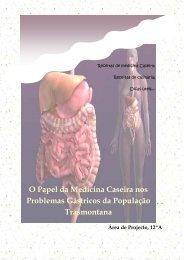O Papel da Medicina Caseira nos Problemas Gástricos da ...