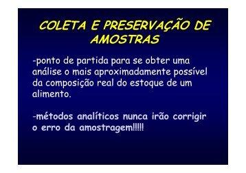 COLETA E PRESERVAÇÃO DAS AMOSTRAS 2012-02.pdf