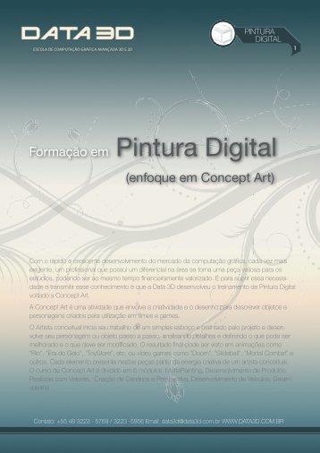 Formação em Pintura Digital - Data 3D