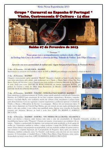 GRUPO ESPECIAL VINHOS - ESPANHA & PORTUGAL - SAÍDA 07 ...
