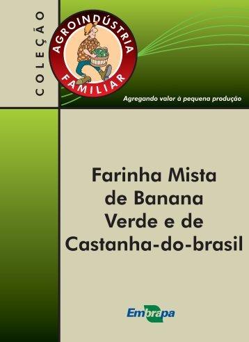 Farinha mista de banana verde.indd - Infoteca-e - Embrapa