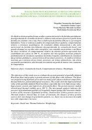 avaliação de misturas proteicas mistas com farinha parcialmente ...