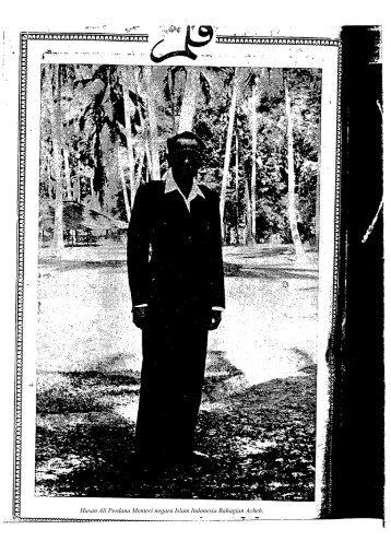 Hasan Ali Perdana Menteri negara Islam Indonesia Bahagian Acheh.