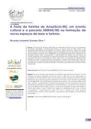A Festa da Farinha - Revista Global Tourism