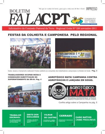alacpt f - Comissão pastoral da terra Regional Goiás