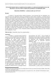 estudo de mercado da farinha de mandioca na - PROPED - Ufra
