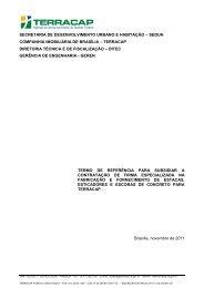 TERMO DE REFERÊNCIA - Terracap