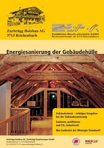 Zurbrügg Holzbau AG 3713 Reichenbach - Zurbruegg Holzbau
