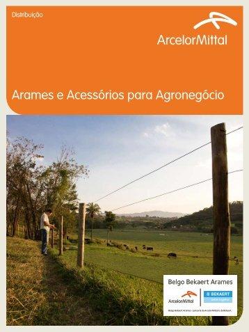 Arames e Acessórios para Agronegócio - Belgo