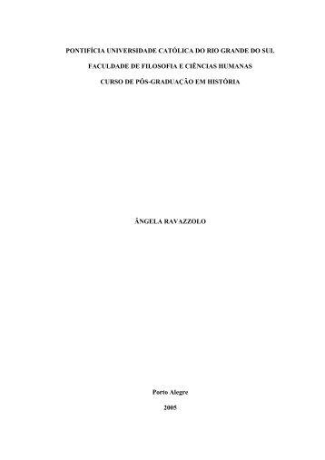 ANTEPROJETO - História da Antigüidade Clássica - José ...