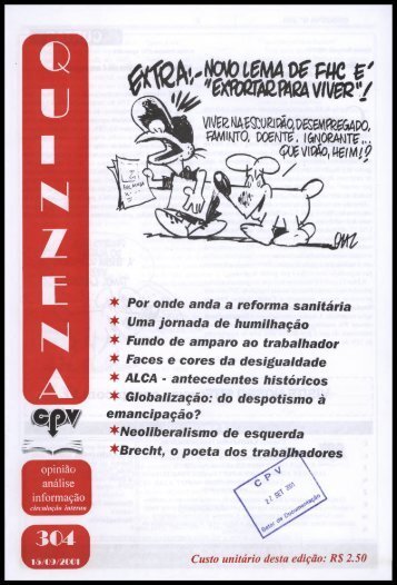 * Por onde anda a reforma sanitária ^ Uma Jornada de humilhação ...
