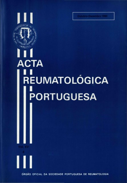 1990 Volume XV, 4, 4º Trimestre - Acta Reumatológica Portuguesa ...