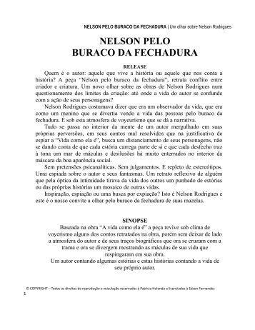 NELSON PELO BURACO DA FECHADURA