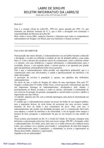 QTC 05 - 24 MAR 2007 - PY3PO