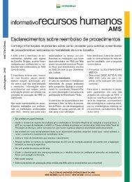 Informativo RH/AMS Petrobras - Petros