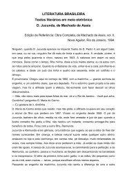 LITERATURA BRASILEIRA Textos literários em meio ... - Livros Grátis