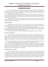 ARTIGO TÉCNICO 05 (Travamento de Válvulas) - ERMAer