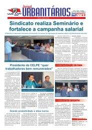 Sindicato realiza Seminário e fortalece a campanha salarial