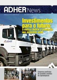 Investimentos para o futuro: Investimentos para o futuro: - Adher