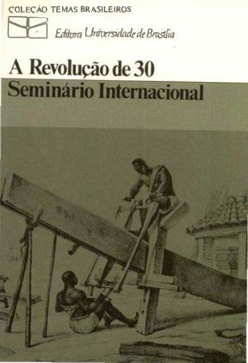 A Revolução de 30 - CPDOC - Fundação Getulio Vargas