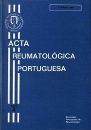 1983 Volume VIII, 3, 3º Trimestre - Acta Reumatológica Portuguesa ...