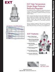 EXT High Temperature Single Stage Pressure Reducing Regulator ...
