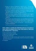 Informações para adesão/pedido de cartão de estudante (C.G.D.) - Page 2