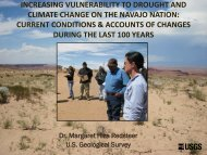 Increasing Vulnerability to Drought & Climate Change on
