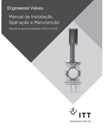Manual de Instalação, Operação e Manutenção - ITT Engineered ...