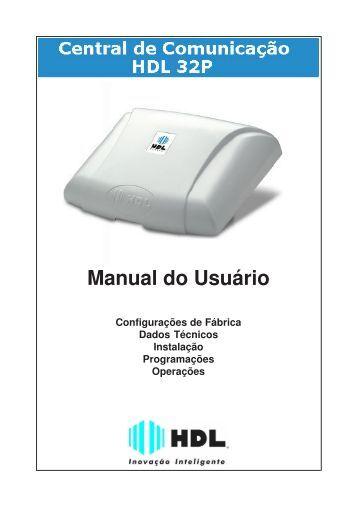 Manual do Usuário - HDL