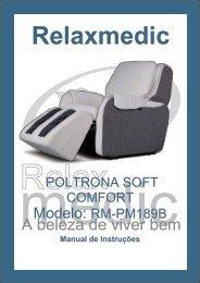movimentação da poltrona - Relaxmedic