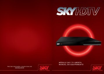 módulo sky tv aberta manual do equipamento - Sky Nordeste