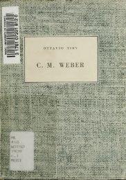 C. M. WEBER