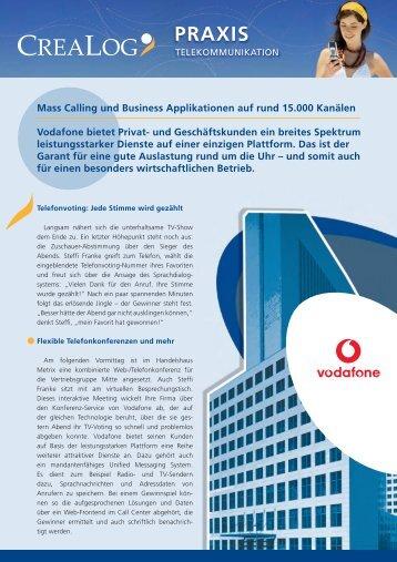 Vodafone - CreaLog