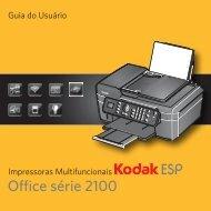 Impressoras Multifuncionais KODAK ESP Office série 2100