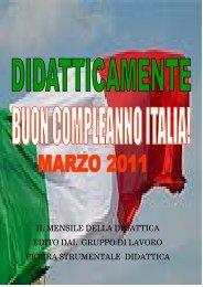 Marzo 2011 - Unità d'Italia