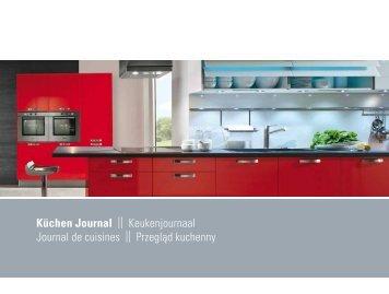 Küchen Journal || Keukenjournaal Journal de ... - Absoluta Kök
