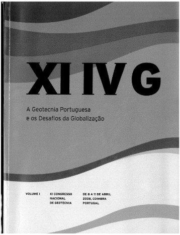 XI Congresso Nacional de Geotecnia.pdf - Universidade do Minho