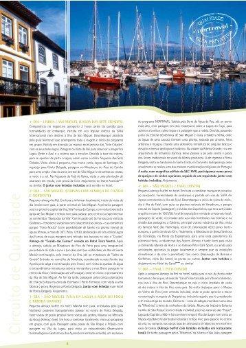 1º dia – lisboa / são miguel (lagoa das sete cidades) - Nortravel