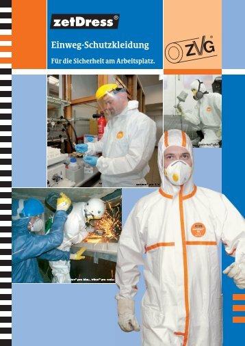 zetDress® Einweg-Schutzkleidung - ZVG Zellstoff-Verarbeitung AG