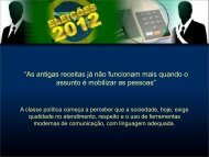 As antigas receitas já não funcionam mais quando o ... - Instituto Brasil
