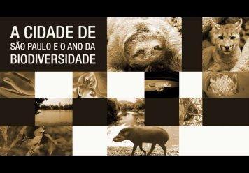 Cidade de São Paulo e o Ano da Biodiversidade - Floriano Pesaro