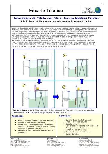 Encarte Técnico - ECL | Engenharia